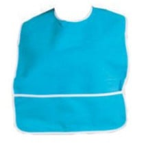 A-T Surgical Adult Terry Bib with Crumb Catcher
