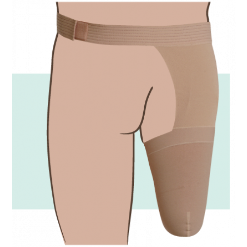 Juzo Dynamic Dynamic Above the Knee Stump Shrinker with Hip Attachment 30-40 mmHg