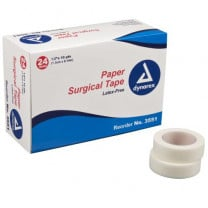 Paper Surgical Tape, Latex-Free