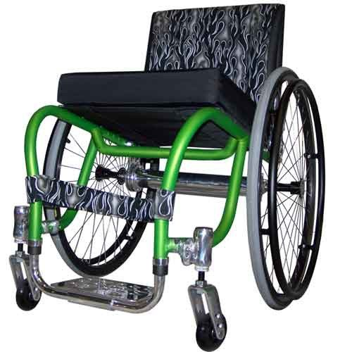 Colours Spazz 18-inch Wide Wheelchair