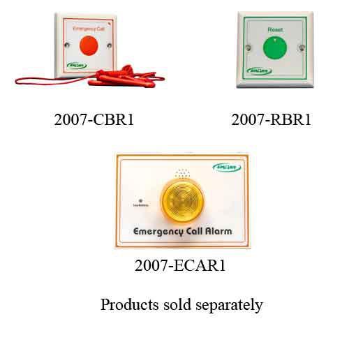 Smart Caregiver Nurse Call Button Accessories 2007 Ecar1