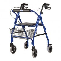 Invacare Adult Rollator with Basket