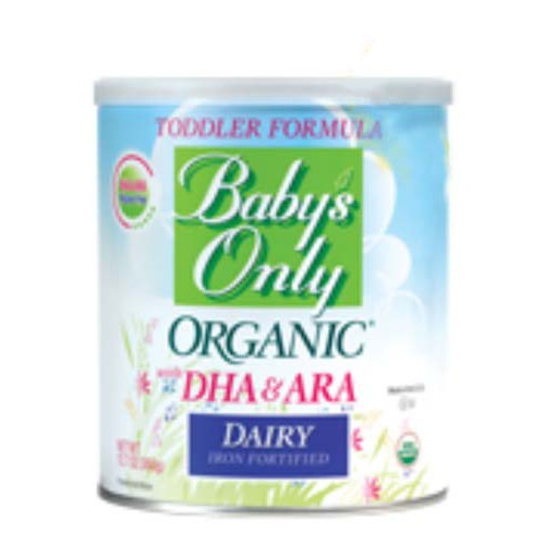 Nature S One Baby S Only Organic Dairy Toddler Formula W