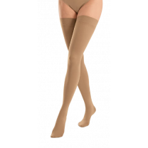 Jobst Opaque Thigh High Firm Compression Stockings CLOSED TOE 20-30 mmHg