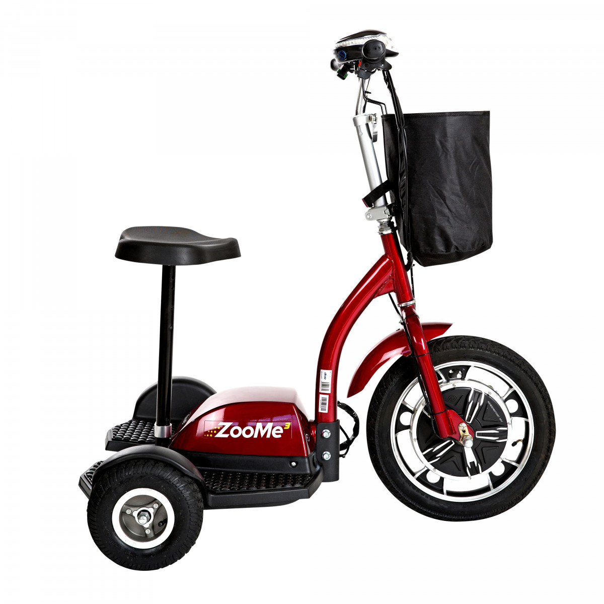 zoome 3 wheel recreational scooter e7c