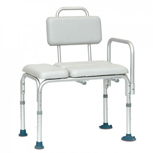 Invacare Adjustable Transfer Bench Padded