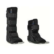 Standard and Short Walking Boot, Black