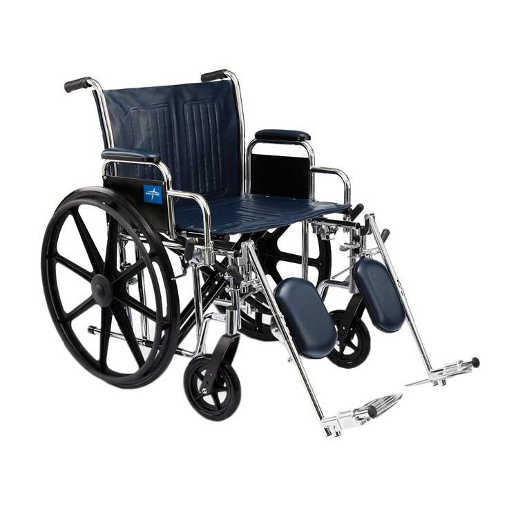 medline extra wide wheelchair e57