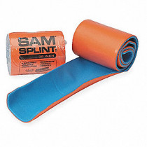 SAM Medical Blue & Orange Modable Splint