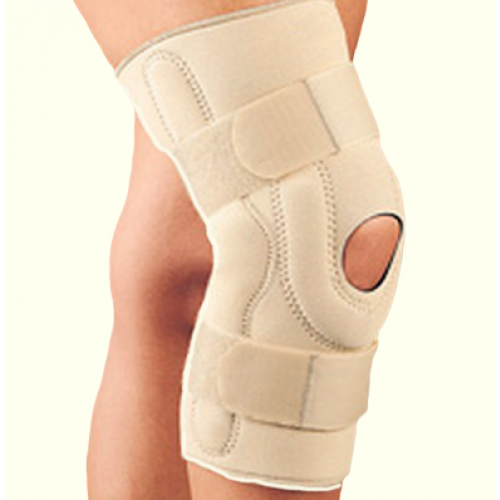 Safe-T-Sport Neoprene Knee Brace with Composite Hinges
