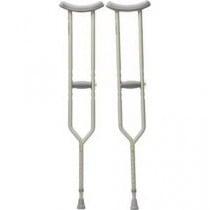 Aluminum Push Button Adjustable Height Crutches