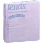 Attends SuperSorb Purple Breathables Underpads Super Absorbency
