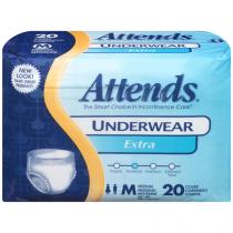 Attends Underwear Extra Absorbency Medium