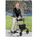 Rolling Walker with Seat and Back