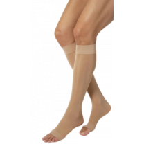 Jobst Ultrasheer Knee High Compression Socks OPEN TOE 15-20 mmHg