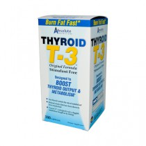 Absolute Nutrition Thyroid T 3 Supplement