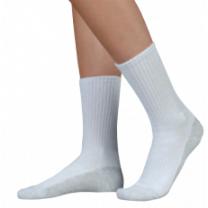 Juzo 5760 OTC Silver Sole Unisex Crew Length Compression Socks 12-16mmHg