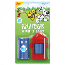 Fire Hydrant Dispenser and Pick-up Bags