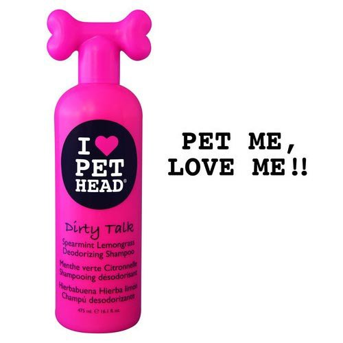 Pet Head Dirty Talk Deodorizing Shampoo