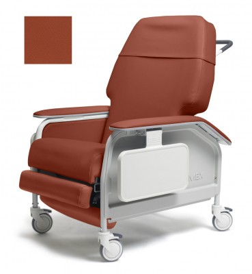 lumex extra wide clinical care geri chair recliner f35