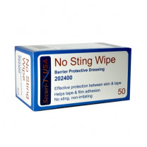 Securi - T No Sting Wipe Barrier Protective Dressing