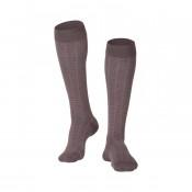 Men's Fine Checkered Compression Socks 15-20 MMHG