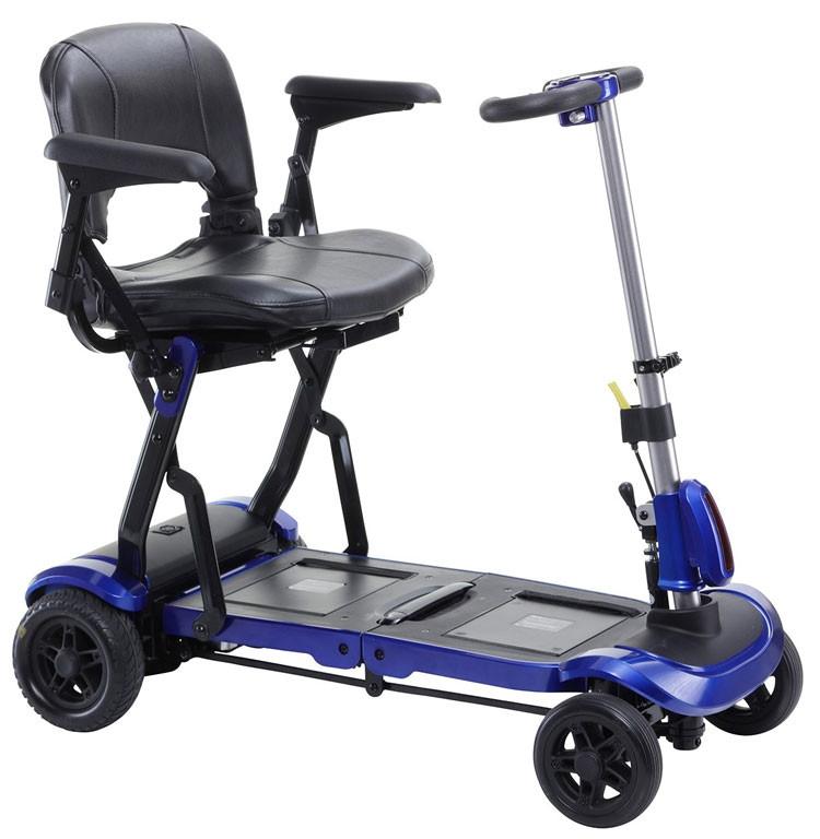 zoome flex folding travel scooter 40b
