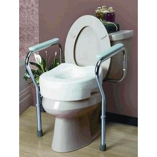 Toilet Seat Safety Frame by Cardinal Health
