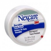 3M Nexcare First Aid Durapore Cloth Tape 538P1 - 1 inch x 10 Yards