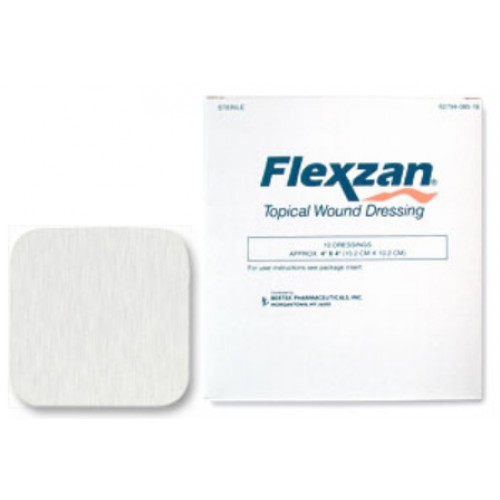 Flexzan Foam Adhesive Dressing