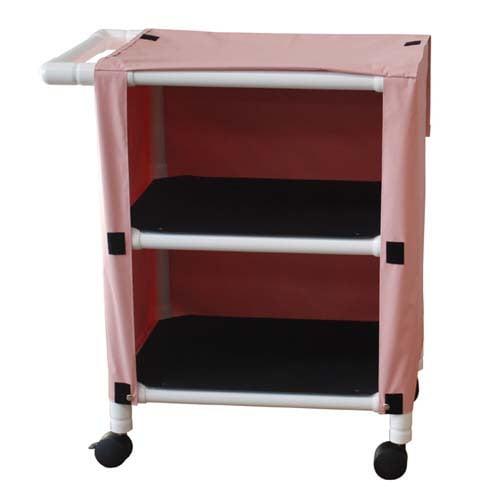 PVC Small Linen Cart with Shelves