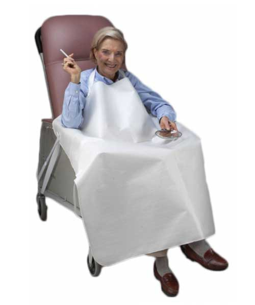Skil Care Geri Chair Smokers Apron 906010 906016