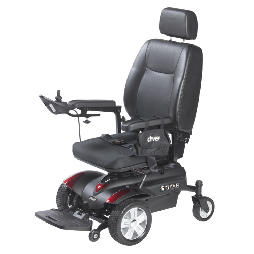 Titan Front Wheel Power Wheelchair, Pan Seat