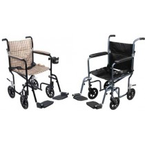 drive deluxe flyweight aluminum transport chairs