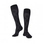 Men's Argyle Compression Socks 15-20 mmHg
