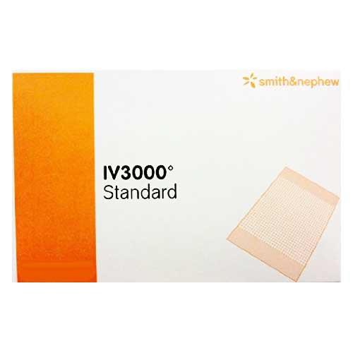 OpSite IV3000 Standard 4 x 8 Inch, Central/Epidural IV Dressing 4649