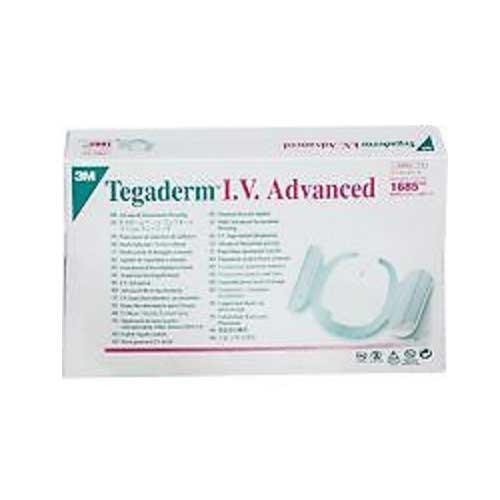 3M 1685 Tegaderm IV Advanced 3-1/2 x 4-1/2 Dressing