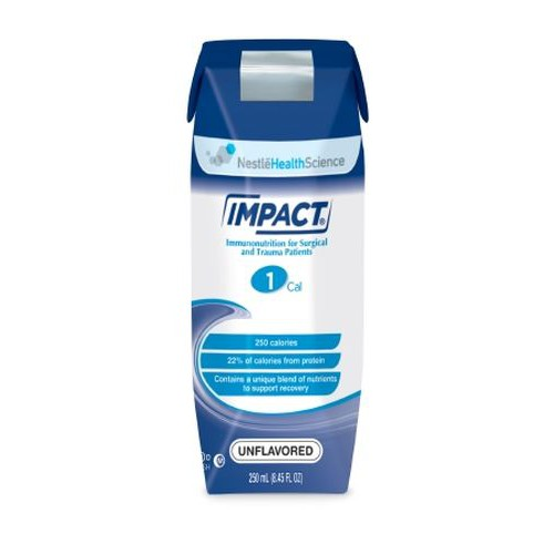 IMPACT 1 Cal Tube Feeding Formula Unflavored - 250 mL