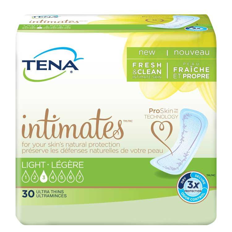 tena intimates light ultra thin pads regular ce3