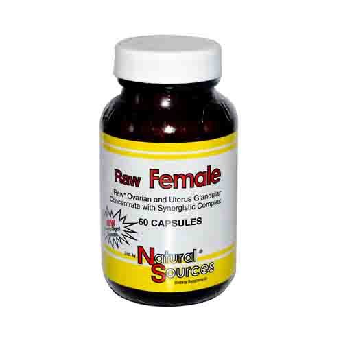Raw Female Glandulars Dietary Supplement