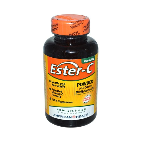 American Health Ester C Powder with Citrus Bioflavonoids Dietary Supplement