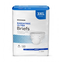 McKesson Ultra Plus Bariatric Briefs - Heavy Absorbency