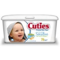 Cuties Wipes for Sensitive Skin