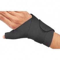 Neoprene Wrist Splint Cinch-Lock and Thumb Wrap