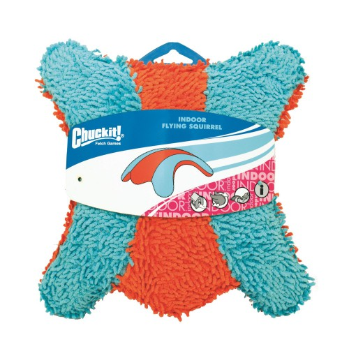 Chuckit Indoor Squirrel Dog Toy