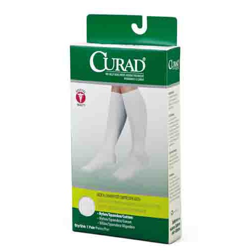 CURAD Cushioned Compression Socks