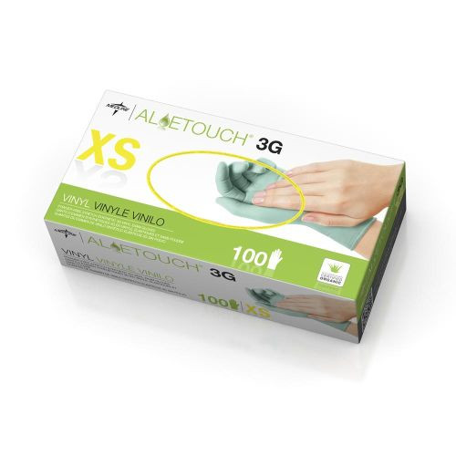 Aloetouch 3G Powder-Free Synthetic Exam Gloves, Latex Free
