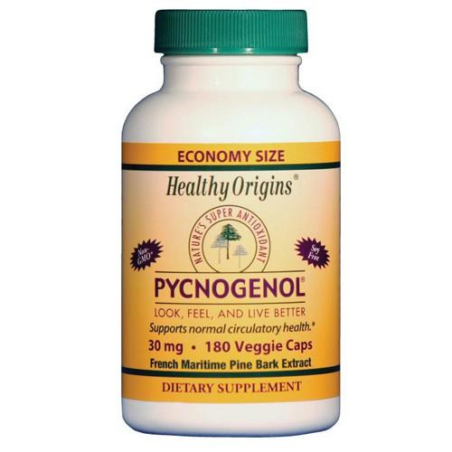 Healthy Origins Pycnogenol 30 mg Dietary Supplement