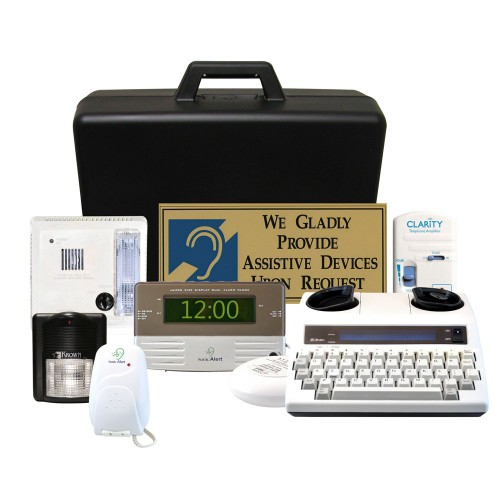 ADA Compliant Guest Room Kit 500A Hard Case