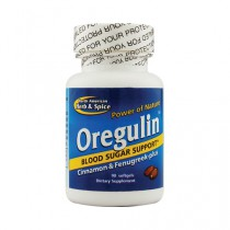 North American Herb and Spice Oregulin Blood Sugar Support